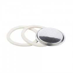 2 GASKETS + FILTER - ISABELLA COFFEE MAKER