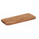 Tabla rectangular de olivo para cortar. Calidad artesanal