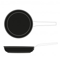SECOND CHOICE - INDUCTION FRYPAN